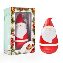 cute christmas gifts for friends promo codes cute bluetooth speaker portable stereo wireless santa claus
