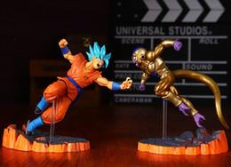 Wholesale Dragonball Z Dbz - Dragon Ball Z Action Figures Resurrection F Son Goku Golden Freeza Fighting Anime Dragonball Z Figures DBZ Esferas Del Dragon