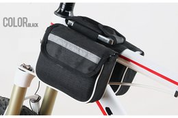 machine bikes Coupons - New Triangle Bicycle bag mountain bike Saddle Upper tube bundle equipment fittings machine