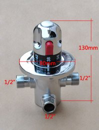 Wholesale Shower Head For Wall - Brass Thermostatic Mixer Shower Valve for Bidet Sprayer Shower Head Douche Kit