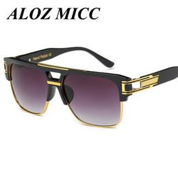 9f70e70516df08 2018 gafas weinlese ALOZ MICC Mode Metall Sonnenbrille Männer Vintage  Steampunk Marke Design Frauen Sonnenbrille Sommer