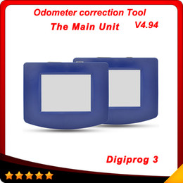 Wholesale Volvo Unit - 2016 Odometer Programmer Car diagnosis tester the main unit of Digiprog 3 with Full Software New Release digiprog iii V4.94 free shipping