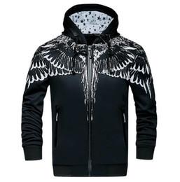 Wholesale Hook Jacket - Men's sports jacket men fall new tide brand men and cashmere Hoodie Jacket