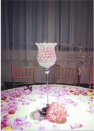 Wholesale Crystal Votive Holders Wholesale - Silvery Crystal Votive Wedding table candle holder centerpiece1