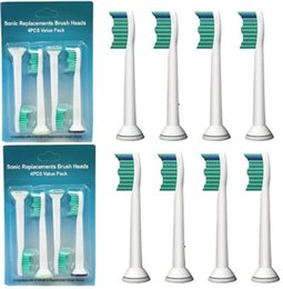 Wholesale Toothbrush Replacement Heads Wholesale - High Quality Sonic Toothbrush Heads Sonicare Compatible HX6014 HX6013 HX6011 Brush Heads Replacement 4pcs pack 8000pcs