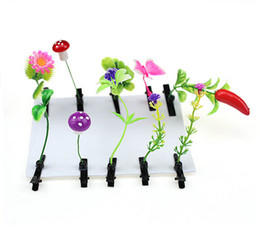 Wholesale Artificial Flower Sprouts Antenna Hair Pins Clips Hairpins Cute Kids Gifts