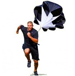 """Wholesale Wholesale Resistance Parachutes - hot sale 56"""" Speed Resistance Training Parachute Running Chute Soccer Football Training Fitness Equipments free shipping"""