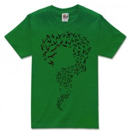 Wholesale Batman Loose - The Batman and The Riddler short sleeve t shirt
