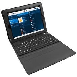 Wholesale Wireless Ipad Mini Folios - Wireless Bluetooth Keyboard Case For ipad pro Air 2 iPad Mini 2 3 iPad 4 Tablet pc Leather Smart Cover Silicon Cases Stand 20pcs