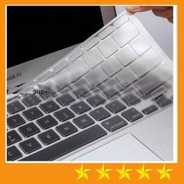 Wholesale 13 Inch Waterproof Laptop Case - TPU Crystal Keyboard Skin Protector Case Cover Ultrathin Clear Transparent For MacBook Air Pro Retina 11 13 15 inch EU US Retail package