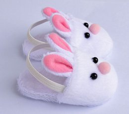 Wholesale Zapf Dolls - New Arrival Cute Withe Felt Slippers For 17inch Zapf Baby Reborn Dolls Accessories