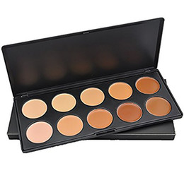 Wholesale Concealer For Dark Circles - In Stock 10 Color Face Concealer Whitening & Nutritious & Water-Resistant Palette Makeup for All Skin Types Fedex free SHipping