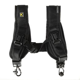 Wholesale Caden Bags - Caden Quick Shoulder Neck Strap Decompression Shoulder Belt Thicken For Canon Nikon Professional Camera Strap Free Shipping