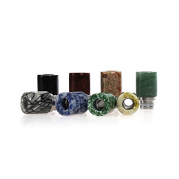 Wholesale Ecig Mouth Pieces - 20pcs metal drip tip 510 drip tips mouth piece for 510 thread rda atomizer ecig drip tips RDA atomizer manhatton lowest price