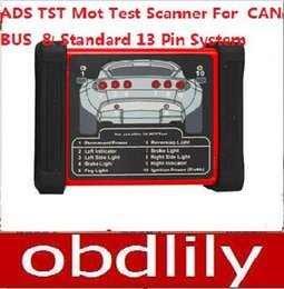 Wholesale Ads Bmw - 2015 Newest ADS TST Mot Testing Scanner For CAN-BUS And Standard 13 Pin System DHL Free Shipping
