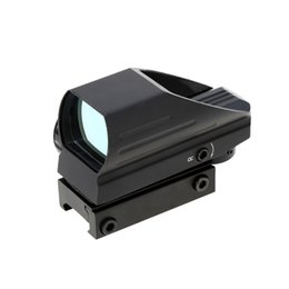 Wholesale Red Lens Hunting - Tubeless 1X33 Red   Green Dot Sight Scope Illuminated Tactical Riflescope Hunting Optics Reflex Lens + Allen Wrench Y1394