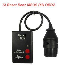 Wholesale Mercedes Benz Si - SI-Reset-Service-Intervall-OBD2 II Car Diagnostic Tool For MB38 Reset Mercedes Benz 38 pin