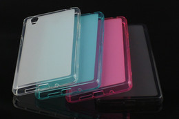 Wholesale Mini C4 - Matte Pudding Jelly Soft TPU Gel Back Cover Case For Sony Xperia Z1 Z2 Z3 Z4 Mini Z5 premium C4 C5 M5