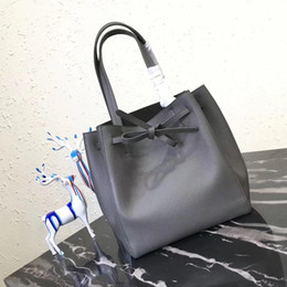 Wholesale Tot Bags - fashion Women's cowhide luxury handbags women bags sang designer Trapeze Bucket bag Smiley Tot Cel women's c lin tote handbag shou