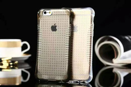 Wholesale Iphone 5s Clear Soft Case - Ballistic Non-slip Soft TPU Case For iphone 6 7 I7 Plus 6S 4.7 5.5 5 5S Dot High Impact Clear Crystal Cover Skin Shockproof Luxury 15pcs