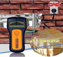 Detectores de metais por atacado-parede, detectores de madeira, detector de fios Metal do parafuso prisioneiro AC fios Detector de madeira 3 em 1 Multiscanner Wood Stud Metal Sensor de Fornecedores de scanner de sonda