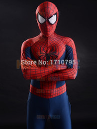 Wholesale Popular Suits - 2015 3D Printing New Spider-man Superhero Costume spandex fullbody adult halloween cosplay spiderman costume the most popular zentai suit