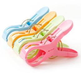 Lavanderia clip on-line-Pinos fortes dos Pegs de roupa da lavanderia plástica dos Clothespins da mola que penduram grampos
