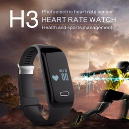 Wholesale Male Vibrating - Vibrating Alarm Bracelet Heart Rate Monitor Smart Wristband Fitness Tracker Band USB for iPhone Xiaomi Mi 3 Mobile Fit Band