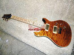 Wholesale Electric Guitar Se - New Arrival Custom Shop SE Guitar Brown Electric Guitar with Hard case Maple Fingerboard