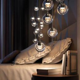 Wholesale Glass Flasks - Tom Dixon Flask Smoke Pendant Light Suspension Glass Lamp Indoor Lighting