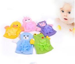 Kinder Handschuh Für Baby Bath Nette Tierform Baumwolle Bad Pinsel Baby Cartoon Bad Handschuhe Von Kinder Zubehör 6 Sytles Preisnachlass Babypflege Bad & Dusche Produkt
