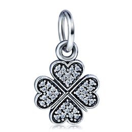 Wholesale Fit Symbol - Wholesale Lucky Love Symbol Charm Pendant 925 Sterling Silver European Charms Beads Fit Snake Chain Bracelet DIY Jewelry