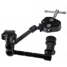 Wholesale Dslr Rig Lcd - 11'' Inch Magic Arm+Super Clamp for DSLR Rig LCD Monitor LED Light clamps for clamp lights clamp lights