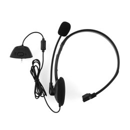 Wholesale Earphone Headphone Over Head Headset - Wholesale-Hot Headset Earphone Over-head Headphone Black W MIC W Volume Stereo For Xbox 360 Live for Xbox360 Lightweight Comfortable
