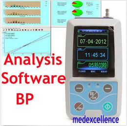 Wholesale Ambulatory Blood Pressure Monitors - 2016 High Quality Color LCD Ambulatory Blood Pressure Monitor Automatic 24h BP in home or hospital