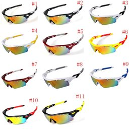Wholesale Pc Road - New Cycling Glasses Men Women Polarized Sport Road MTB Mountain Bike Bicycle Glasses Sunglasses Eyewear Goggles TR90 5 Lens