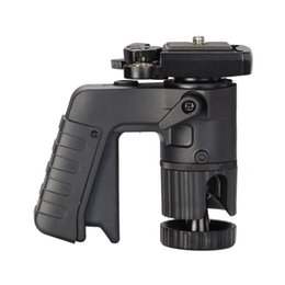 """Wholesale Quick Release Tripod Plate - Promotion Andoer Pistol Grip Ball Head with 1 4"""" Screw Quick Release Plate for Canon Nikon Pentax DSLRs Tripods Monopods order<$18no track"""