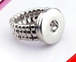 Wholesale Netherlands Gifts - fashion vision Snap Button Rings Netherlands button band rings with adjustable size elastic rings model no. NE10