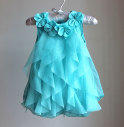 Wholesale Soft Cotton Baby Dresses - Wholesale -baby girl infant dress soft baby romper body suit 4 colors for 0~3Y baby