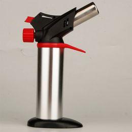 XXL Gümüş meşale bütan çakmak Açık barbekü sprey çakmaklar uygun Sigara araçları Mutfak kullanımı için NO Gaz Perakende Paketi ile satış nereden