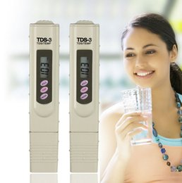 Wholesale Water Filter Packing - 2015 New Arrival Digital TDS Meter Tester Filter Water Quality Purity Tester High Quality with Packing
