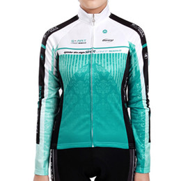 Wholesale Winter Cycling Sobike - Wholesale-SOBIKE Women's Cycling Fleece Long Jersey Long Sleeves-Water Curtain Winter Windproof Fleece Cycling Clothing Sports Jackets