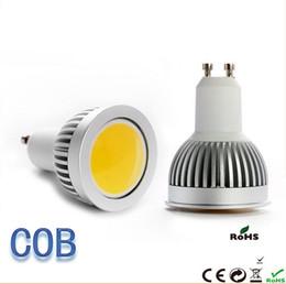 Wholesale Mr16 Cob Led 7w - COB 5w 7W 9W led GU10 b22 E27 e14 Led Spot Light Bulb 900LM Led Downlight Lamp 110V 220V led lighting spotlight