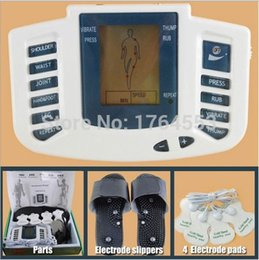 Wholesale Tens Therapy Slippers - Health Care New Electrical Stimulator JR-309 Full Body Relax Muscle Massager,Pulse tens Acupuncture with therapy slipper+ 4pads