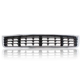 Wholesale Audi A4 Front Bumper - Chrome Front Bumper Center Lower Grille Grills for Audi A4 B6 Sedan 2002-2005 Free shipping order<$18no track