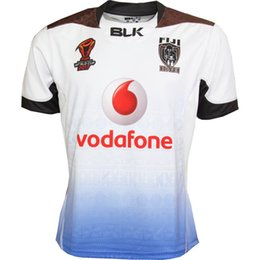 Wholesale Spun Polyester Fabric - China high quality fabric 2017 Jersey, new Fiji Rugby 2017 World Cup Jersey Fiji commemorative edition jerseys, 2017 RUGBY SUPER Rugby S-3XL