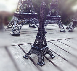 Wholesale Metal Craft Models - 22 cm Metal crafts Home decor France Paris style Eiffel Tower model gift wedding decorative supplies