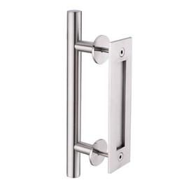 Wholesale Wood Barn - KIN MADE Stainless steel Sliding Barn Door Handle Wood Door Flush Pull