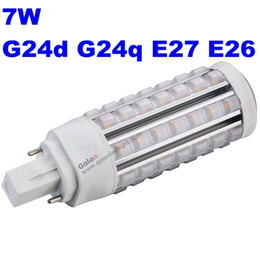 Wholesale Pl Led Lamps - 11w g24q 3 osram cfl led pl replacement lamp 100-277V 4000K 5000K 6500K DHL Fedex free shipping 9W 7W 5W G24D 3 Gx23-2