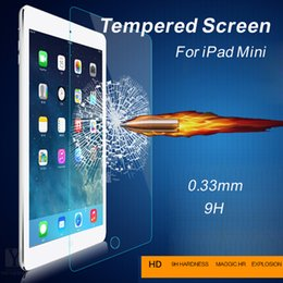 Wholesale Shield Guard For Ipad - Tempered Glass Screen Protector for 7.9 Inch iPad Mini 9H 0.33mm with Retail Box Explosion-proof Waterproof Film Guard Shield